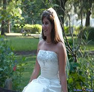Bride in the Park